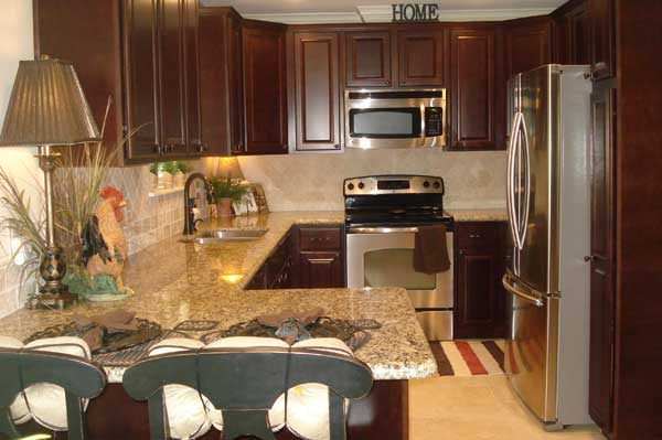 An outdated kitchen will reduce the value of any home or house.